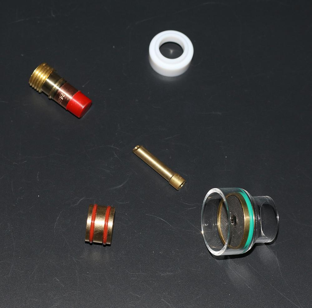 Image 2 - 16# Pyrex Cup Kit for 17, 18 & 26 Series TIG TorchWelding Torches   -
