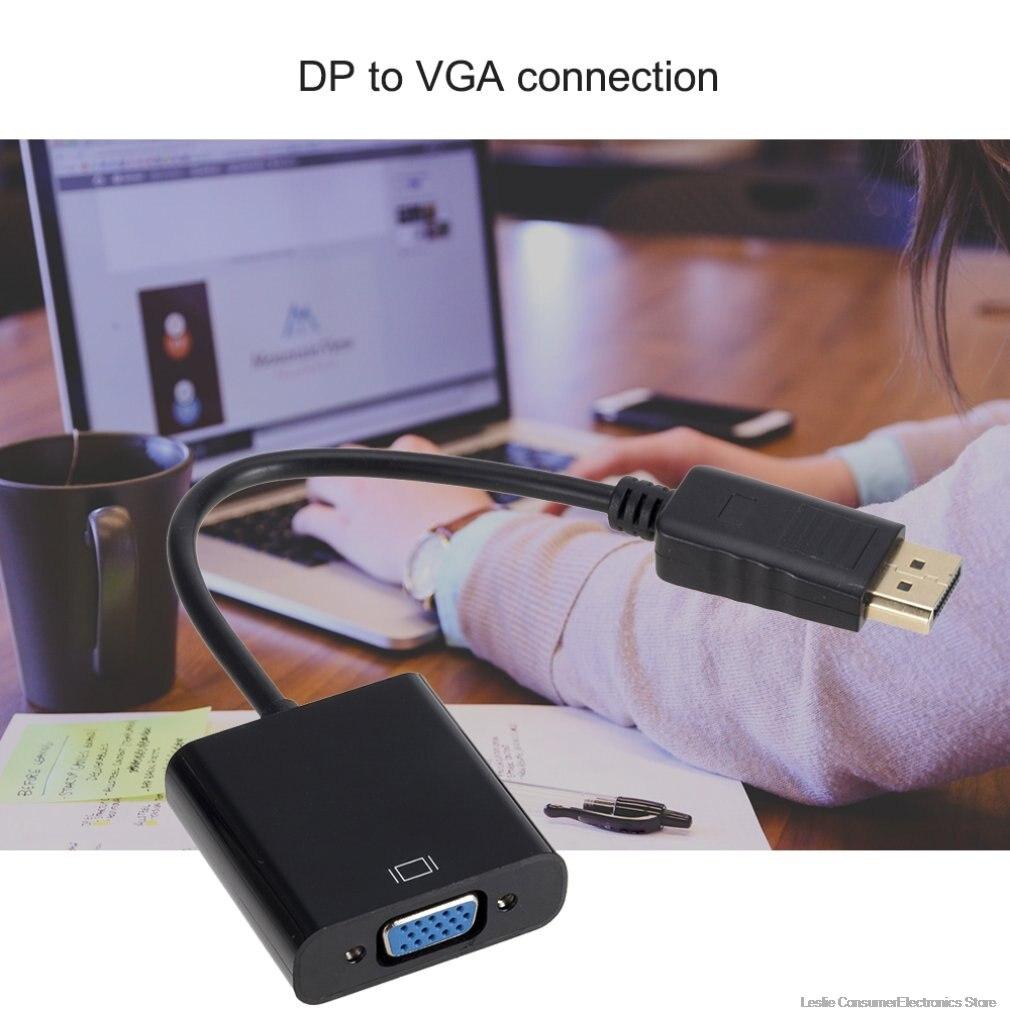 Кабель адаптер для порта дисплея dp vga