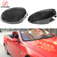 For BMW E92 Latter E93 Carbon Fiber Mirror Cover Full add on style 2009 2010 2012