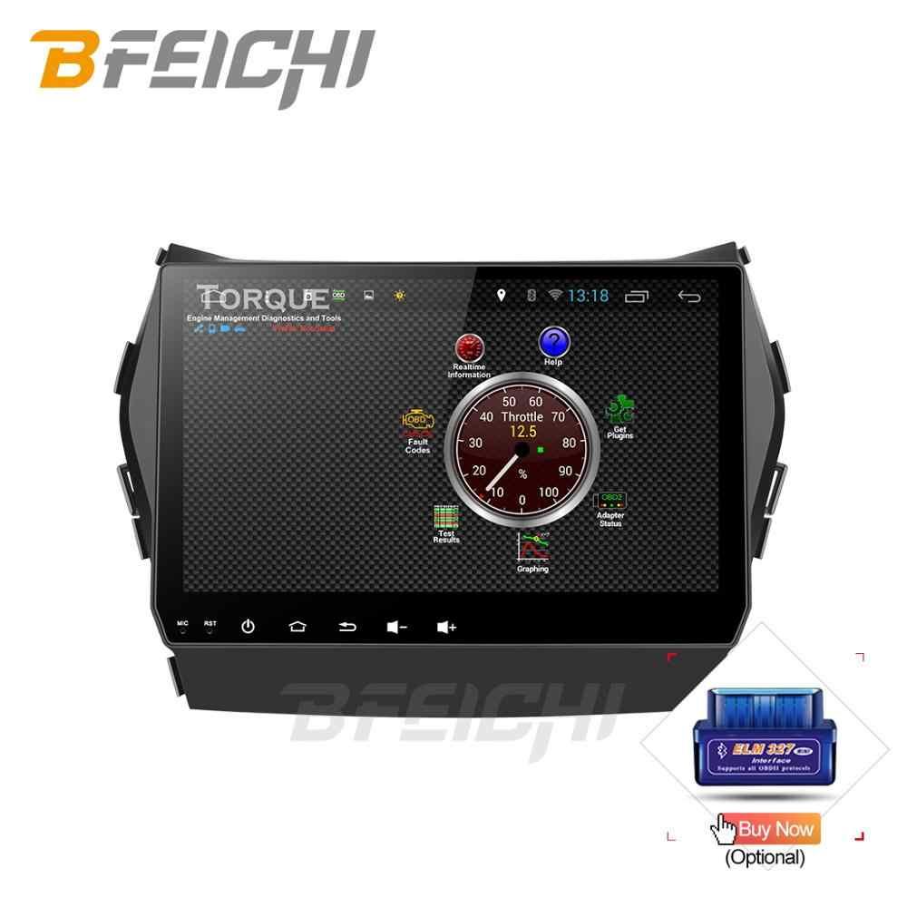 Android 9.0 PX30 auto dvd voor Hyundai Santa Fe/ix45 2013 2014 met 2 + 32G radio stereo gps navigatie 2 din auto media speler