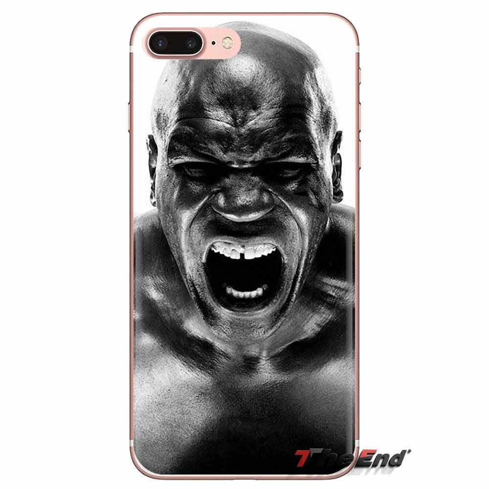 Funda de teléfono móvil para Huawei Honor 5A LYO-L21 Y6 II compacta Y5 2 Y5II Mate 10 Lite Nova 2i 9i patrón de estrella de boxeo profesional de Mike Tyson