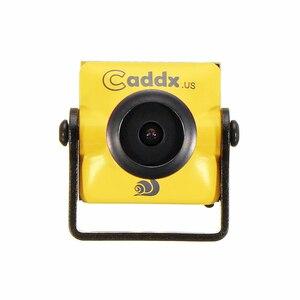 """Image 1 - Caddx турбо микро F2 1/3 """"CMOS 2,1 мм 1200TVL 16:9/4:3 NTSC/PAL с низкой задержкой FPV камера с микрофоном для RC FPV Racing Drone"""