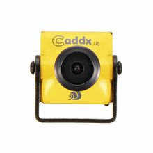 """Caddx טורבו מיקרו F2 1/3 """"CMOS 2.1mm 1200TVL 16:9/4:3 NTSC/PAL השהיה נמוכה FPV מצלמה W/מיקרופון עבור RC FPV מירוץ Drone חלק"""