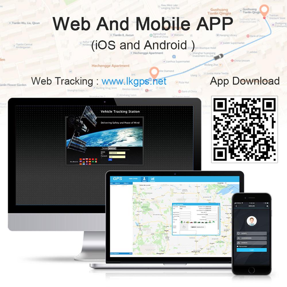 4G LTE GPS Tracker LK900A Global Use (10)