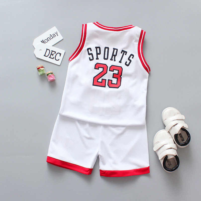 Conjunto de ropa para niños, verano 2020, ropa para niños, uniforme de baloncesto, traje para niños y niñas, trajes deportivos, 2 uds., traje para niños pequeños