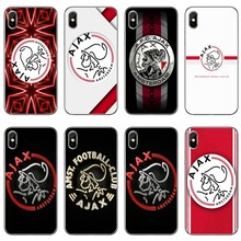 Para iPhone XR X XS X Max 8 7 6s 6 plus Samsung Galaxy nota S6 S7 borde S8 S9 s10 Plus lite Ajax equipo funda suave(China)