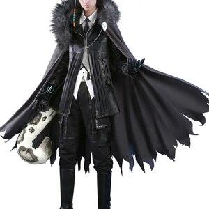 Image 5 - Anime! Arknights SilverAsh Spiel Hübscher Gothic Leder Uniform Cosplay Kostüm Full Set Halloween Anzug Für Männer Freies Verschiffen