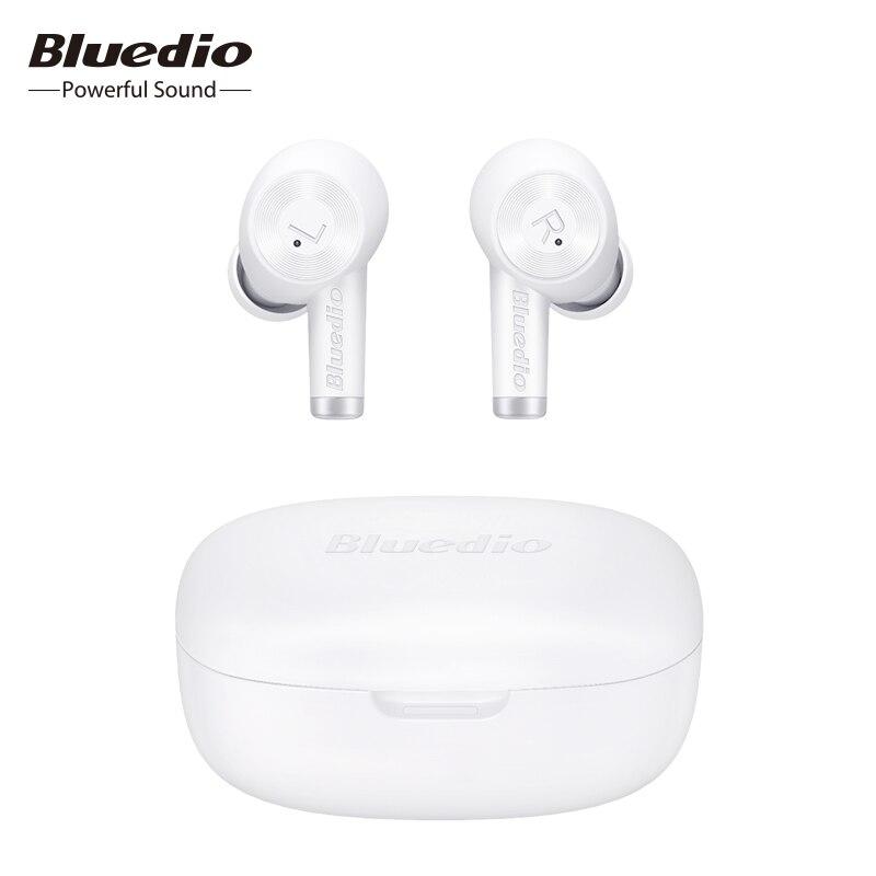 Bluedio Ei, беспроводные наушники, TWS наушники, Bluetooth гарнитура, водонепроницаемые наушники, беспроводная гарнитура, Беспроводная зарядка, спорт