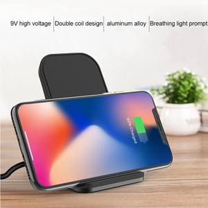 KISSCASE Wireless-Charger Dock-Holder Station Universal Fast-Charging iPhone 11 10-Plus-Stand