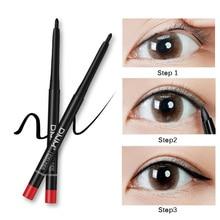 Gel Eyeliner Pencil Waterproof Non-Dizzy Dyeing Long-Lasting Gel Eyeliner With Sharper Eyeliner Professional Eye Makeup