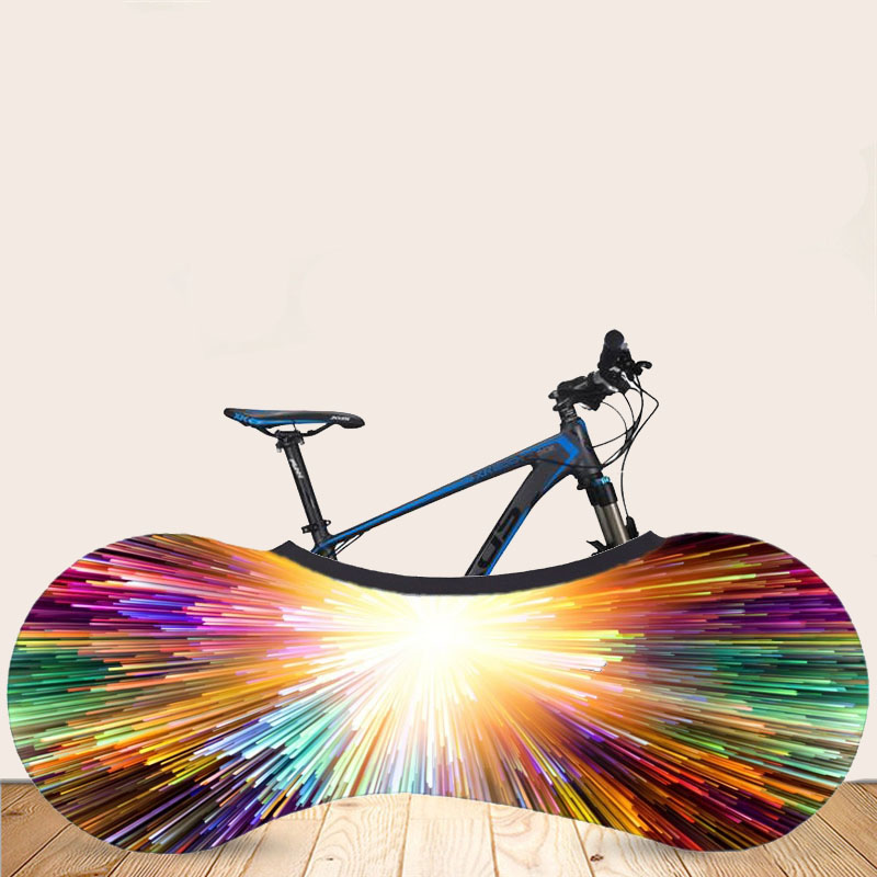 26 Inch Bike Cover Dust Proof Bicycle Garage Wheel Chain Cover Case Storage
