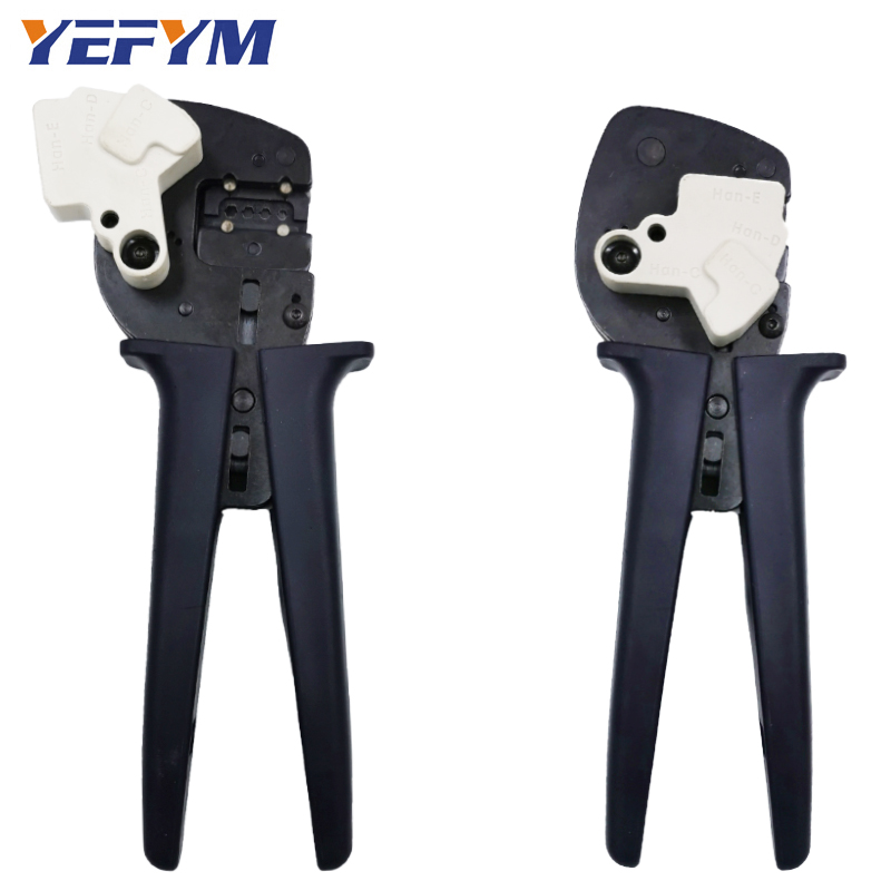 Tools : Aviation terminal crimping pliers tools Harting Hardin pin YE-166 heavy duty connector Automatic adjustment of crimp depth tools