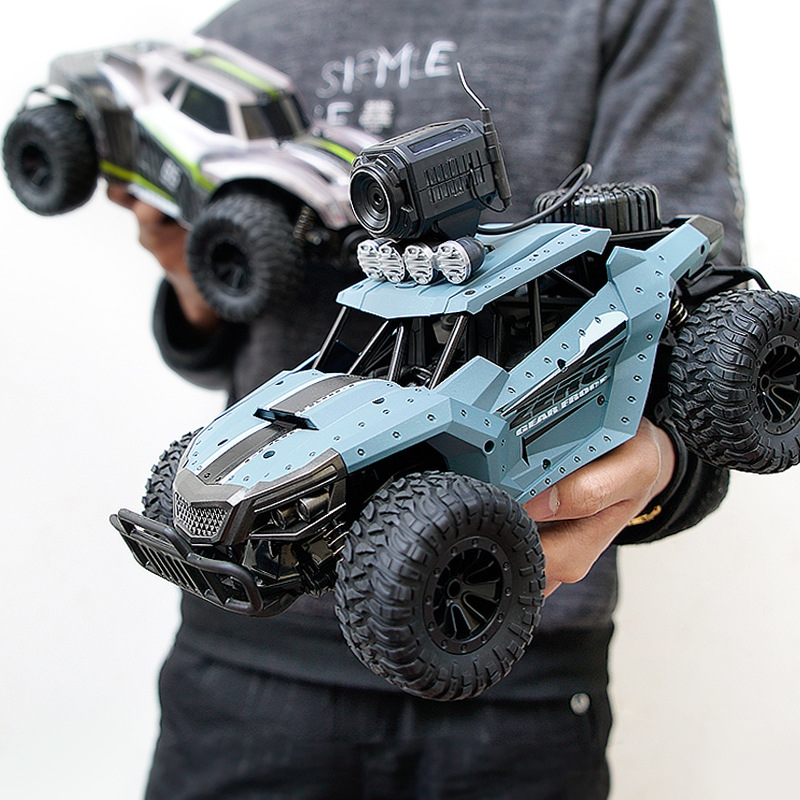 1:12 Electric 2.4G RC Car Rock Crawler Remote Control Toy Cars 25km/h On The Radio With Camera Controlled Drive Off-Road Toys