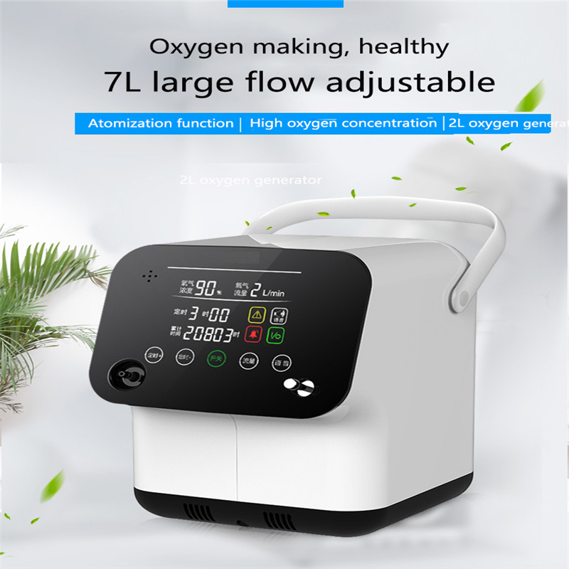 1Oxygen Machine Home Oxygen Machine Elderly Pregnant Women Small Portable 3L Atomization Multi Layer Filtration