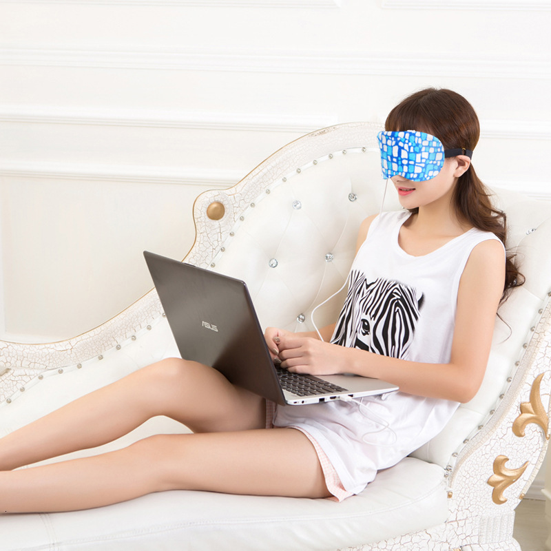 New Travel Rest EyeShade Sleeping Eye Mask Cover Eyepatch Blindfolds For Health Care To Shield The Light Goggles 1pcs/lot Ym12