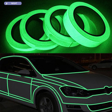 Luminous Tape Green Reflective 5M Glow In The Dark Stage Staircase Decorative Sticker  Home Decoration Fluorescent Luminescent