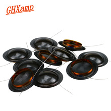 Promotion 10pcs 19.43mm Tweeter Voice Coil 19 Core Crystal Translucent film Horn Drive Diaphragm Round Wire DIY 8OHM