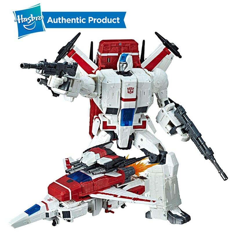 Hasbro transformateurs jouets générations guerre pour Cybertron commandant WFC-S28 Jetfire figurine d'action siège chapitre adultes et enfants