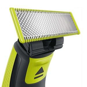 Image 2 - Philips QP2520 OneBlade Elektrische Rasierer Wiederaufladbare mit NimH Batterie Hält Bis Zu 4 Monate Unterstützung Wet & Dry für Männer der Rasierer
