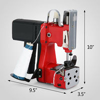 Electric Bag Sewing Machine Sealing Machines Portable Sack Closer NEWEST