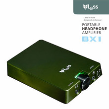 1 PCS Portable LESS BX1 full Discrete Single Amplifiers Output HI END Headphone AMP Full Earphones Headphone Amplifier Coin