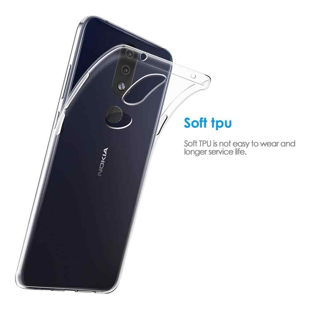 Ultra Thin Soft TPU Case For Nokia 3.1C 7.2 6.2 4.2 3.2 2.2 5.1 3.1 2.1 1 2 3 4 5 6 7 8 Sirocco 9 Pure View 7 Plus Clear Cover