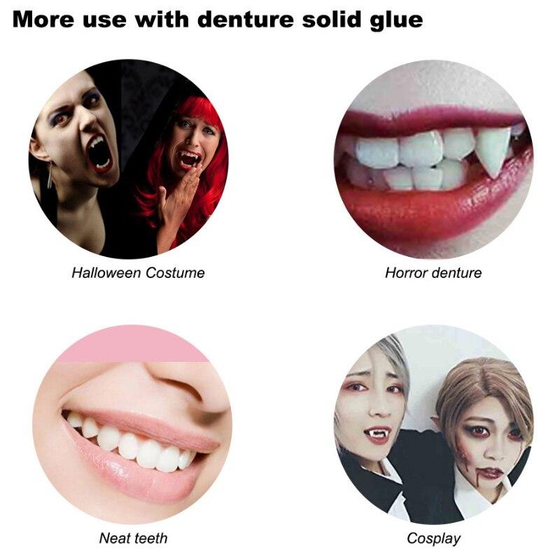 H4a7eb629a6ad4da380cdbac59a05e8e2e - DIY Temporary Missing Tooth REPAIR dentures Filler Cosmetic  False Teeth Dental Replacement Material