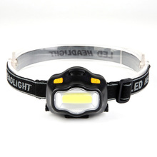 3 Modes LED Headlamp With Adjustable Head Straps Camping Outdoor Work Power By 3*AAA Battery White /Red Light Head Torch Lamp