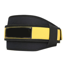 Waist Support Weightlifting Training Belt Fitness Gym Back Protector Weight Nylon Adjustable Straps