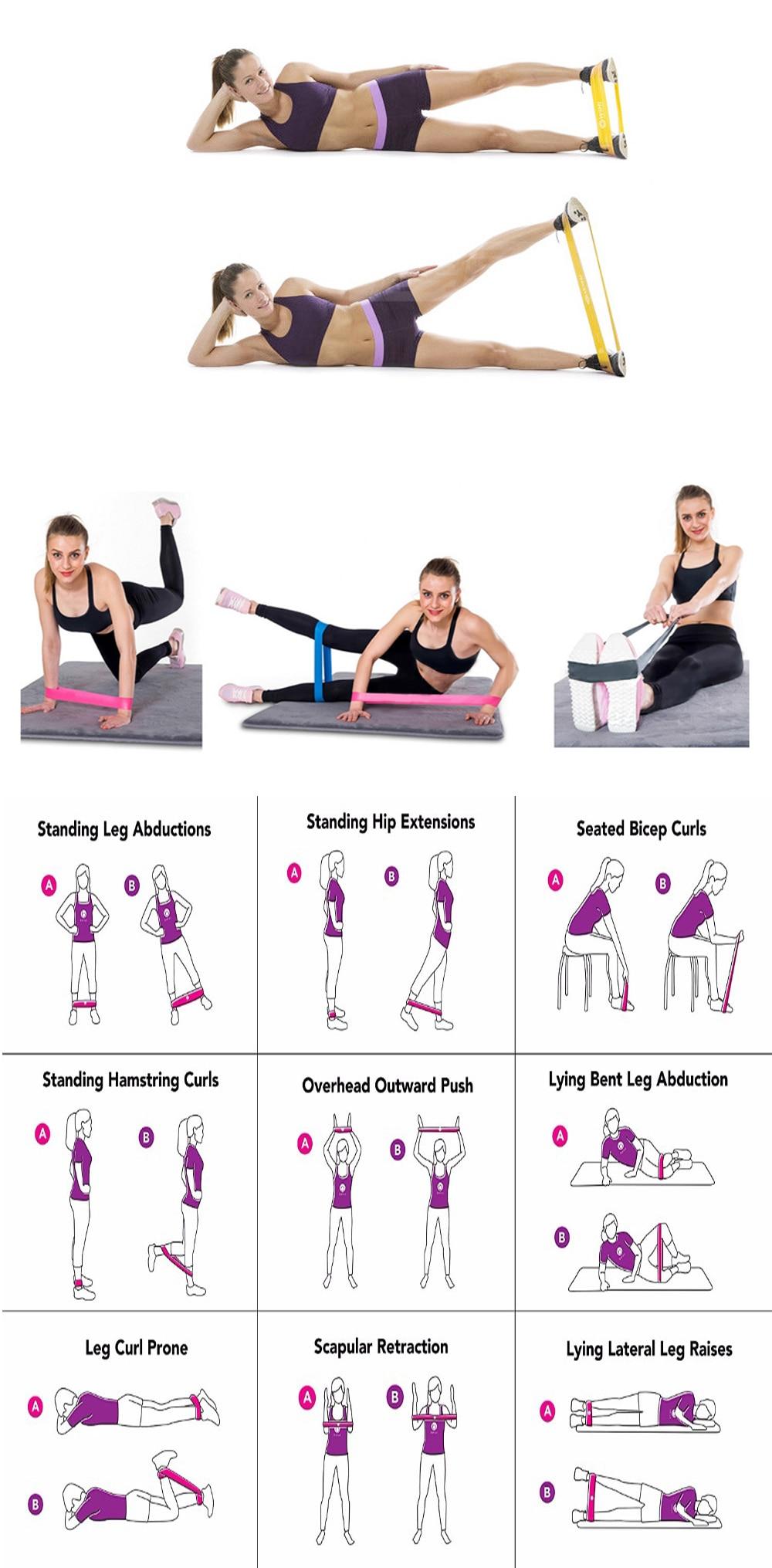 Elastic Band For Fitness /Gym/ Sport /Yoga