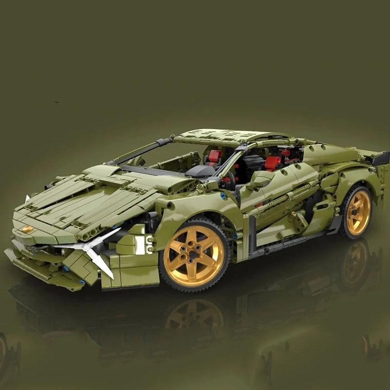 Lepining Techinc Car Toys Compatible 42115 Lamborghinis SIAN Race Car Assembly Model Building Blocks Bricks Kids Christmas Gifts