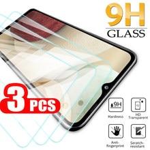 3 pçs vidro temperado para samsung galaxy a12 a21 a21s a71 a51 4g/5g protetor de tela óculos de proteção a 12 21s hd clear glass 9h