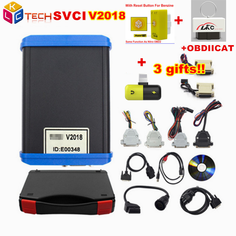 A Newly SVCI ABRITES Commander with 18 Softwares Abrites for Most Cars Avdi ABRITES Scanner Full