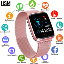 Rose Gold N99 Heart Rate Monitor Smart watch Women Men Fitness Tracker Sport IP68 Waterproof S7 Smartwatch for Android IOS apple