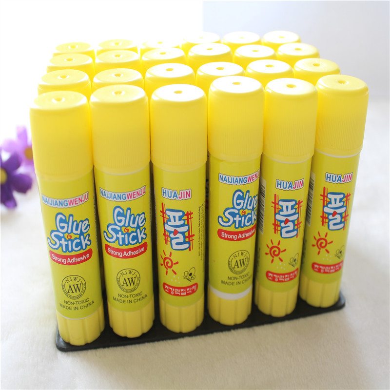 15g Solid Yellow Glue, High Viscosity Solid Glue, Used For Household Sticky Paper Stationery Office School
