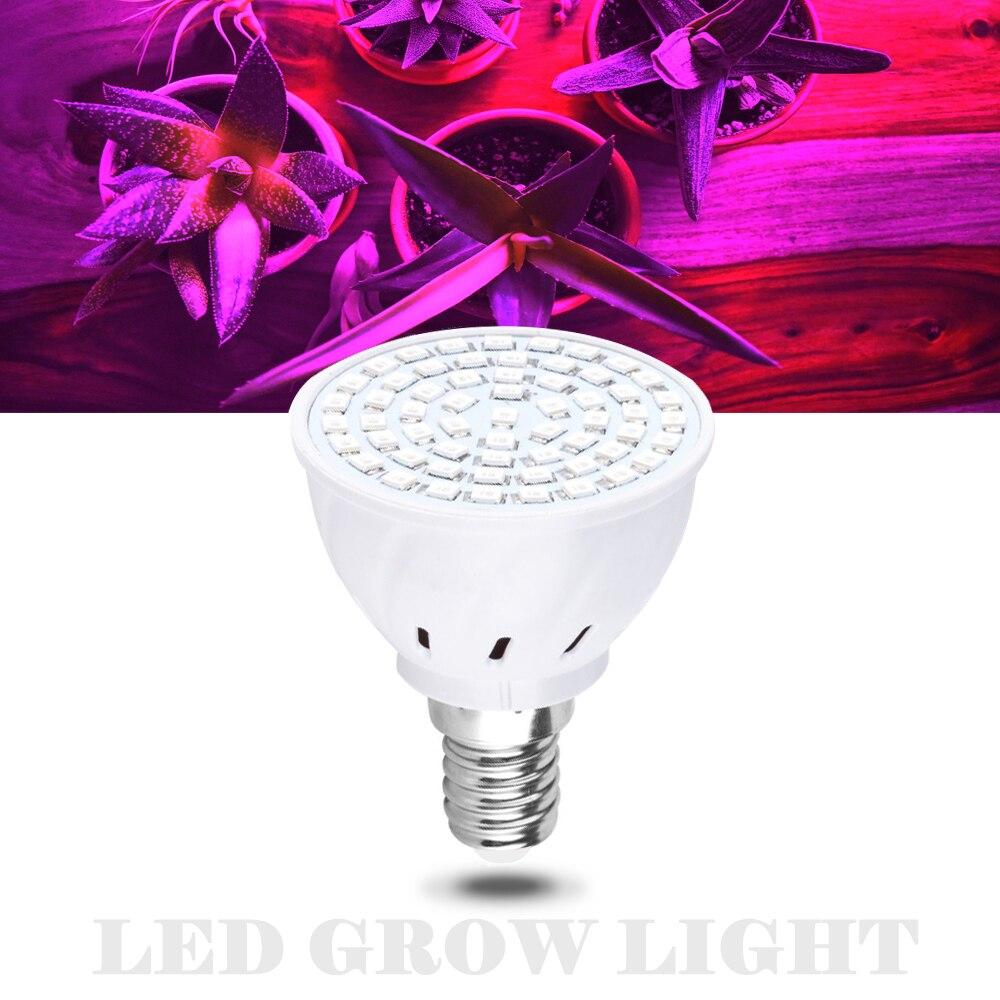 LED Grow Light For Plants E27 LED 220V Full Spectrum Grow Lamp AC85-265V For Flower Vegetable Seedling Plant Indoor Greenhouse