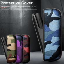 Высококачественные аксессуары для электронных сигарет декоративный защитный чехол прочный тонкий Камуфляжный кожаный чехол для IQOS3.0
