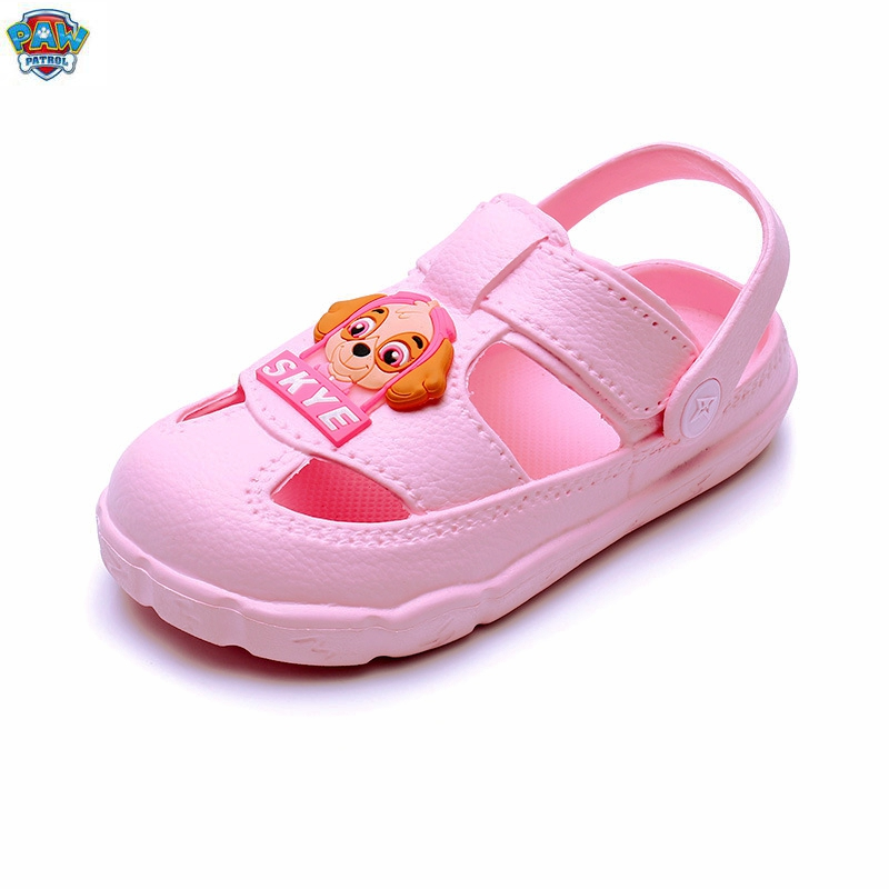 New 2020 Summer Genuine Paw Patrol Children's Cartoon Chase Skye Rocky Figure Characters Shoes Baby Slippers Gift Fit1-5 Year