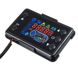 Image 3 - LCD Parkplatz Heizung Monitor Digital Schalter Auto Heizung Gerät Controller Universal für Auto Air Heizung W/4 Taste Remote control