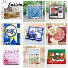 Eastshape Rose Flower Metal Cutting Dies for Scrapbooking Card Making Embossing Die Cut New Craft Album