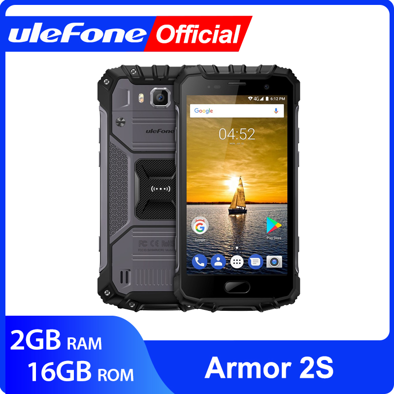 Ulefone armadura 2 s ip68 impermeável telefone móvel android 7.0 5.0
