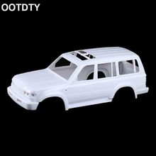 цена на 313mm Plastic Body Shell RC Car Spare Parts for 1/10 Land Cruiser LC80 Crawle