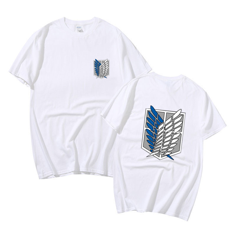 Camisa de manga curta dos desenhos animados streetwear camiseta ataque em titan t camisa anime plus size camisetas verão topos