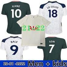 Novo kit adulto 20-21 2022 tottenhames kane filho bergwijn 2020 2021 lucas spurs dele camisa de bale ndombele camisa dos homens crianças kit