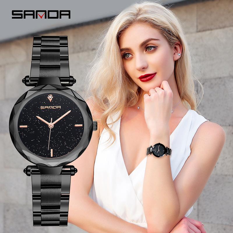 Montre Femme Starry Sky Women Watches Luxury Brand Crystal Diamond Ladies Watch Quartz Female Casual Clock Relogio Feminino