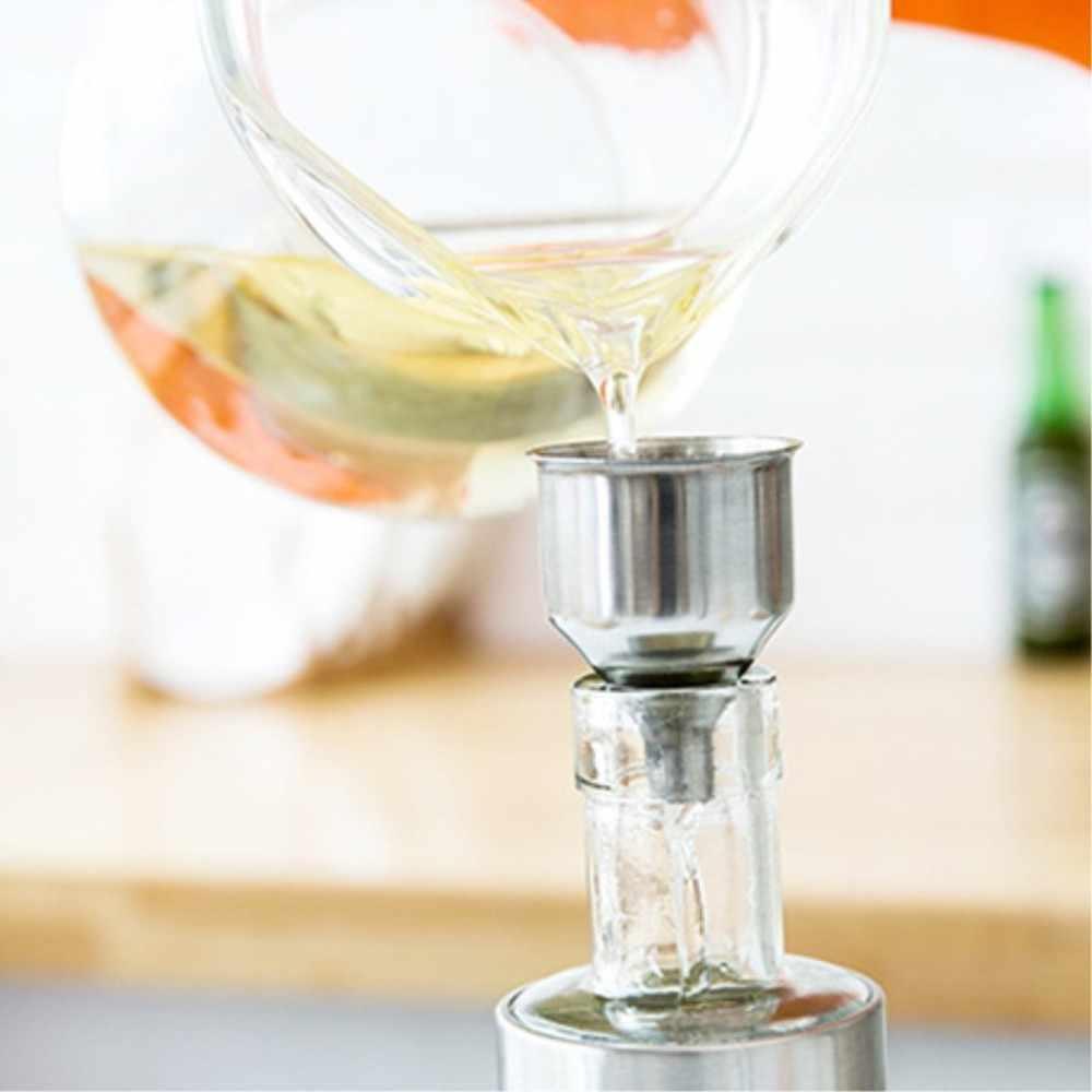 Pulverizador de azeite de aço inoxidável, garrafa pulverizadora de óleo, garrafa para tempero de cozinha, molho de soja, garrafa de churrasco lu9281517, 100ml
