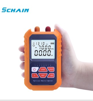 Ftth 3-in-1 handheld Fiber mini Optical Power Meter -70+3 dBm Laser source Visual Fau 5MW 5KM Network Cable Test - sale item Communication Equipment