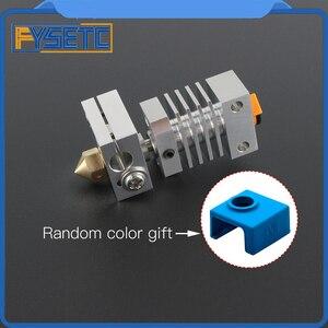 Image 1 - Cr10 dissipador de calor todo o metal hotend kit atualização para CR 10 Ender 3 impressoras micro suíço cr10 hotend titânio disjuntor garganta