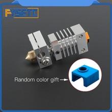 Disipador térmico CR10, Kit de actualización Hotend de Metal para impresoras CR 10, Micro Swiss CR10 Hotend Titanium, disyuntor térmico de garganta