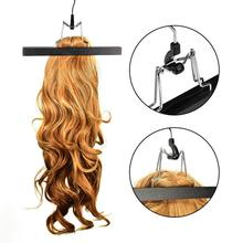 Портативная посылка для наращивания волос, чехол для костюма, сумка для хранения парика, держатель для одежды для наращивания волос, хранение одежды, черный/красный